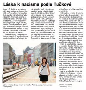 Fleyberková, Klára - Láska k nacismu podle Tučkové. In Týdeník Rozhlas 17-2018