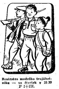 Foglar - Bratrstvo modrého trojúhelníku. In Čs. rozhlas a televise 1957-48