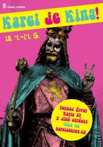 Karel_je_king_poster