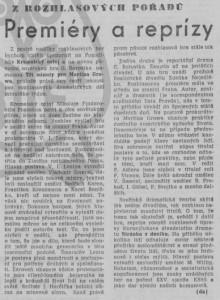 -da- Z rozhlasových pořadů. Premiéry a reprízy. In Rudé právo, 11. 2. 1976, s. 5 (recenze).