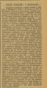 davi - Velký čaroděj v rozhlase. In Venkov 1940-11-07, s 7 (recenze) 01