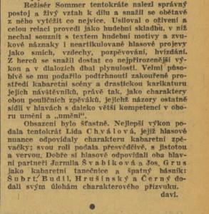 davi - Velký čaroděj v rozhlase. In Venkov 1940-11-07, s 7 (recenze) 02