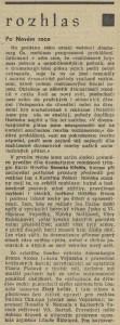 fk - Rozhlas. Po Novém roce. In Tvorba 1971-03 (20. 1. 1971), s. 12 01