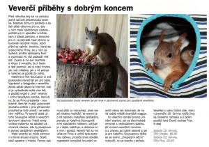 -hs- Veverčí příběhy s dobrým koncem. In Týdeník Rozhlas, červen 2018 (článek).
